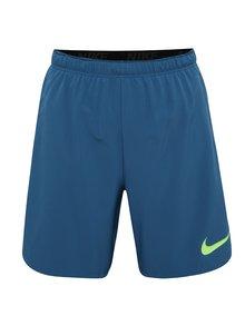 Modré pánske funkčné kraťasy Nike