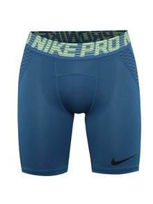 Modré pánské funkční kraťasy Nike Pro HyperCool