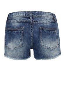 Modré džínové kraťasy s ozdobným šátkem Haily´s Hilary