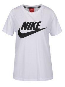 Biele dámske tričko s potlačou Nike