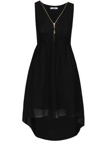 Černé šaty s krajkovaným topem Haily´s Jacy