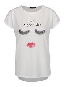 Tricou alb Haily´s Good Day  cu print