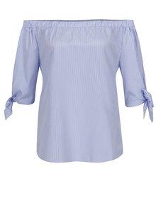Bluză alb & albastru Haily´s Rinary cu model în dungi