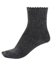 Sivé trblietavé ponožky Pieces Sebby