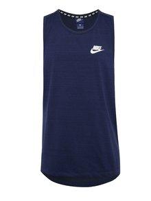 Tmavomodré melírované pánske tielko Nike Sportwear Advance 15