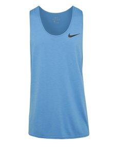 Světle modré pánské funkční tílko Nike Breathe