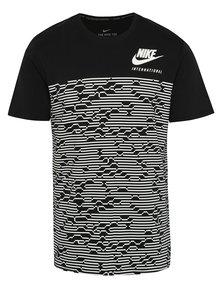 Tricou negru & alb Nike International pentru bărbați
