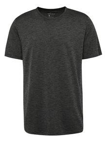 Tricou gri închis melanj Nike Breathe pentru bărbați