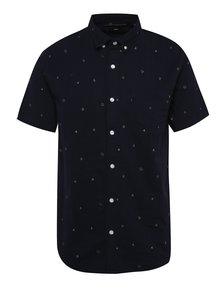 Tmavě modrá vzorovaná košile ONLY & SONS Anders