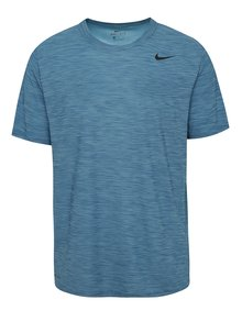 Tricou albastru melanj Nike Breathe pentru bărbați