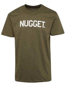 Tricou kaki cu logo NUGGET Extend