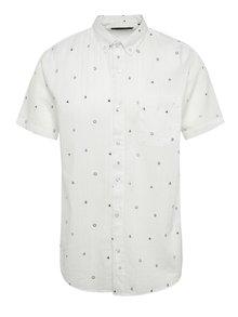 Krémová vzorovaná košile ONLY & SONS Anders