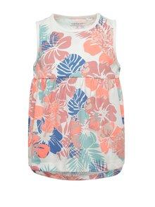 Bílo-růžové holčičí květované šaty name it Viggajo