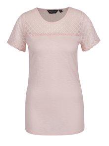 Tricou roz pal Dorothy Perkins Tall