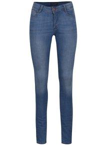 Blugi skinny bleu Dorothy Perkins Tall  cu aspect prespălat
