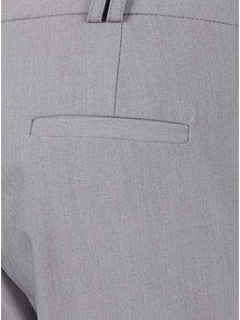 Šedé zkrácené kalhoty Dorothy Perkins Tall
