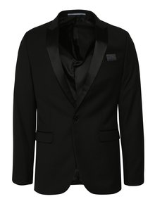 Sacou negru slim Burton Menswear London