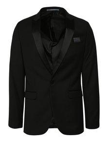 Černé oblekové sako Burton Menswear London