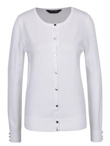 Cardigan alb Dorothy Perkins Tall