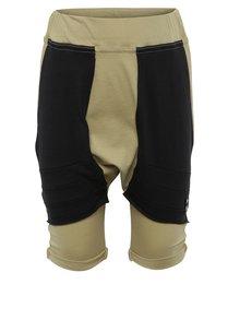 Pantaloni scurți bej cu talie înaltă și buzunare 3fnky kids unisex