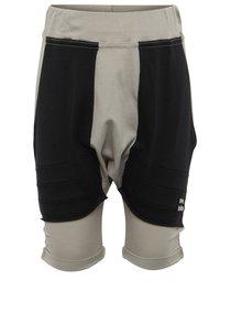 Pantaloni scurți gri cu talie înaltă și buzunare 3fnky kids