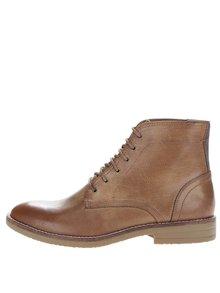 Hnědé kotníkové boty Burton Menswear London