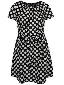 Rochie alb & negru cu buline Dorothy Perkins Curve
