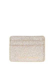 Malá peňaženka na kreditné karty v zlatej farbe Dorothy Perkins