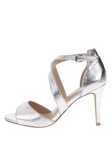 Sandálky ve stříbrné barvě  Dorothy Perkins