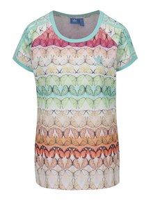 Tricou multicolor adidas Originals Trefoil cu imprimeu - fluturi