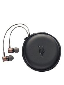 Hnědá sluchátka s dřevěnými detaily Meze Audio Classics