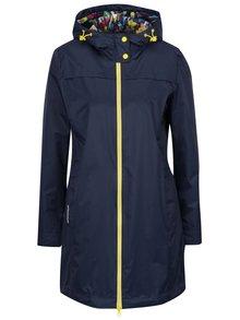Jachetă lungă albastru închis Geox impermeabilă