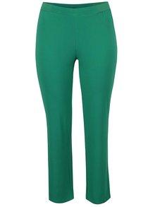 Pantaloni verzi Ulla Popken  cu talie elastică
