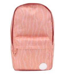 Oranžový dámsky vzorovaný batoh Converse