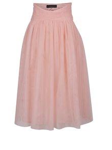 Ružová tylová sukňa Little Mistress