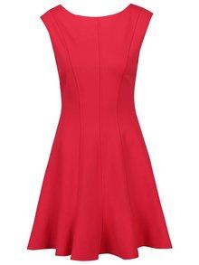 Červené šaty bez rukávov Closet