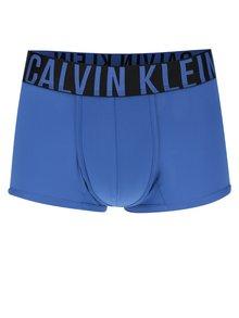 Modré kratší boxerky s širokým pasem Calvin Klein