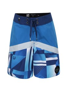 Modré chlapčenské plavky Quiksilver Check
