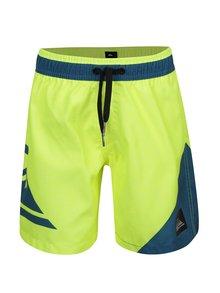 Bermude albastru&galben Quiksilver New Wave pentru băieți