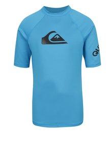 Tricou de surf albastru Quiksilver All Time pentru băieți