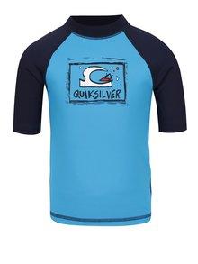Tricou de surf albastru Quiksilver Bubble Dream pentru băieți