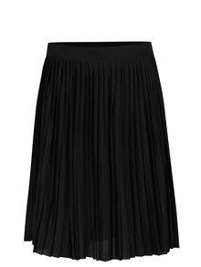 Černá plisovaná sukně VERO MODA Molly