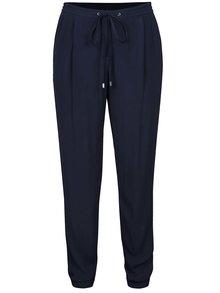 Pantaloni bleumarin VILA Loha cu șiret în talie