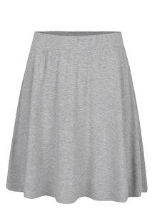 Sivá sukňa s pružným pásom VILA Foma