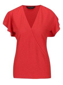 Tricou roșu Dorothy Perkins cu decoltru în V