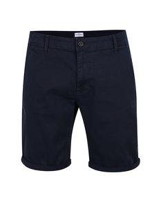Tmavě modré džínové kraťasy !Solid Mak Stretch