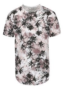 Tricou maro ONLY & SONS Matty cu imprimeu floral