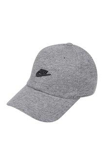 Șapcă gri melanj Nike personalizată cu logo