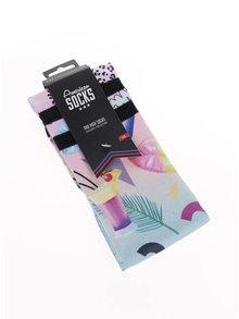 Sosete colorate American Socks cu desene