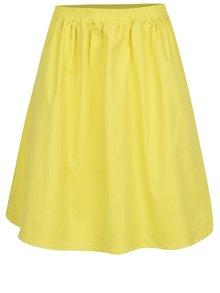 Žltá sukňa s vreckami ZOOT